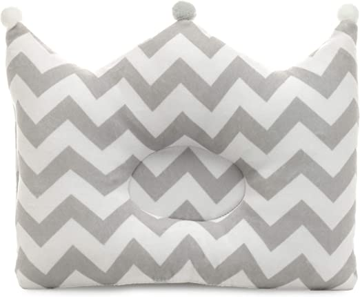 Soporte almohada de cabeza plana para prevenir de bebe recien nacido de algod 4O