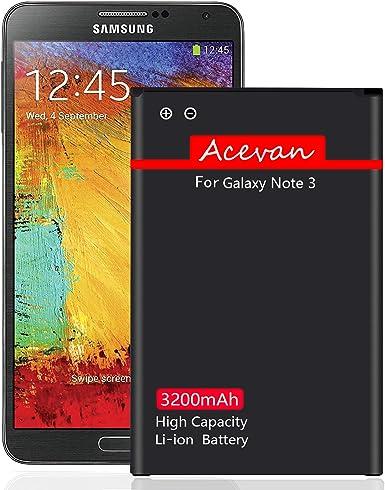 Note 3 - Batería de Repuesto para Samsung Galaxy Note 3 N900 ...