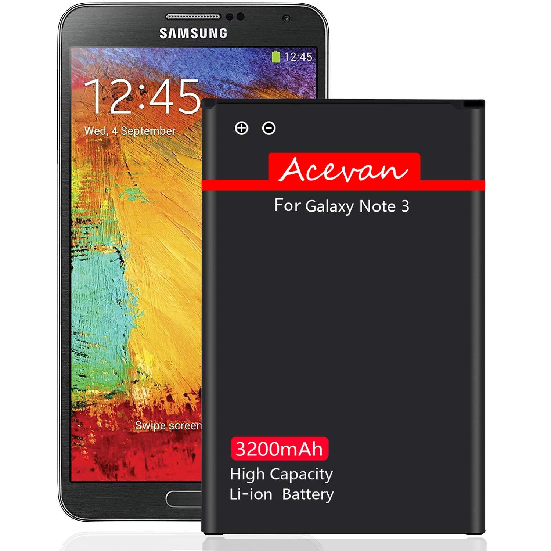 Bateria Celular Note 3 Acevan 3200mah Li Ion Para Samsung Galaxy Note 3 N900 N900v Sprint N900p N900t At&t N900a N9005 L