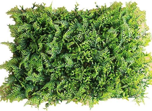 LVZAIXI Paneles De Cobertura Artificial Muro De Valla De Privacidad House Jardín Decoración De La Pared Al Aire Libre 1 Piezas 40x60cm (Color : C, Size : 40x60cm): Amazon.es: Hogar