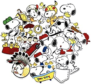 Cartoon Show Themed Snoopy 20 Piece Sticker Decal Set for Kids Adults - Laptop Motorcycle Skateboard Decals
