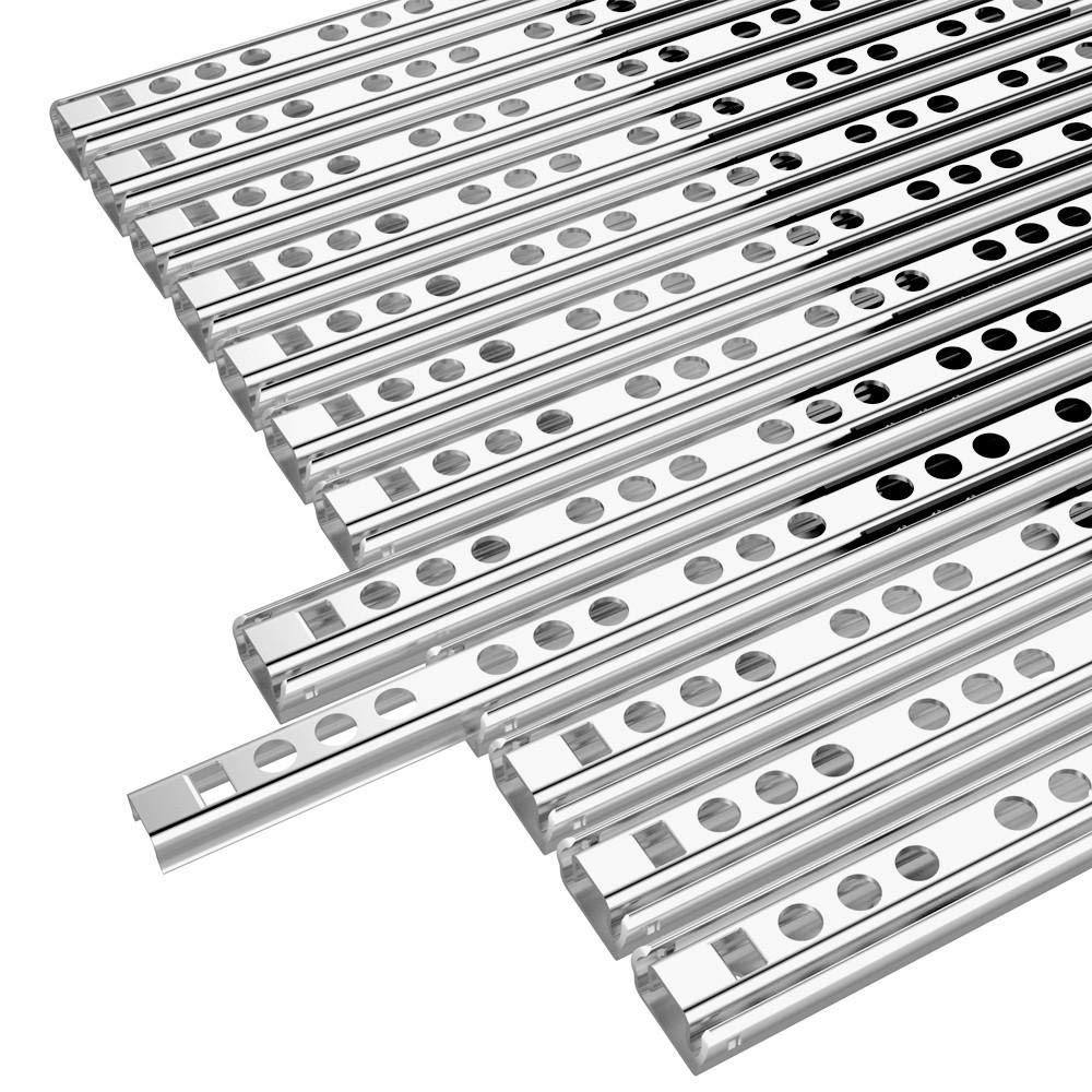 Yaheetech 6 Paar Schubladenschienen Teilauszug Rollenauszug 246//17 mm,Teleskopschiene Kugelf/ührung Kugelpr/äzisionsteilauszug