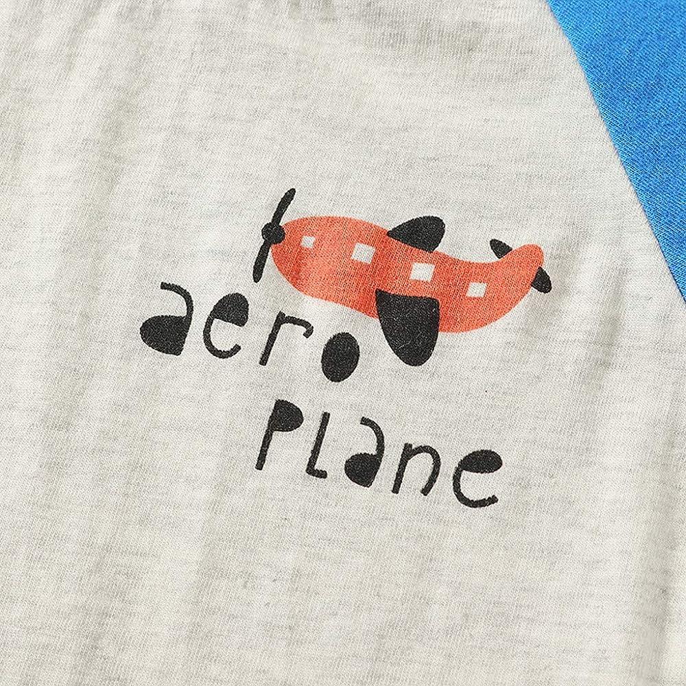 erthome - Camiseta Infantil de Manga Corta con Estampado de 6 ...