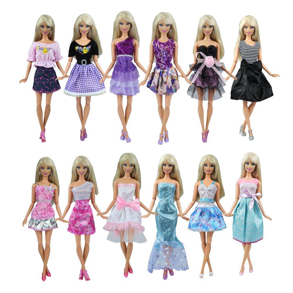 vestidos para Barbie