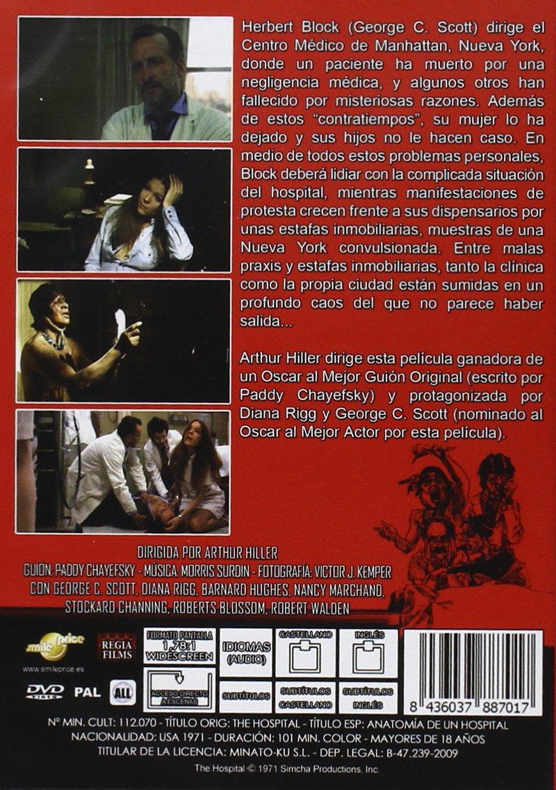 Anatomía De Un Hospital [DVD]: Amazon.es: George G. Scott, Diana ...