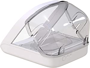 Sure Petcare - SureFeed Feeder Rear Cover - Only Needed to Help Ensure Persistent Pets Can't Access Food from The Rear of The Microchip Pet Feeder While The lid is Open.