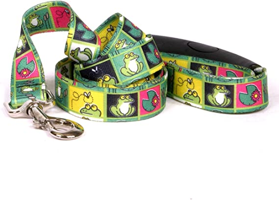 Yellow Dog Design Chipmunks Ez-Grip Dog Leash with Comfort Handle