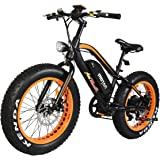 Electric Bicycle Fat Tire M-50 20 Inch Wheel Mini Electric Bike With 500W Motor 36V 10.4 AH Battery New Design 2018