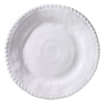 Merritt White Nautical Rope 9-inch Melamine Salad Plates Set of 6  sc 1 st  Amazon.com & Amazon.com   Merritt White Nautical Rope 9-inch Melamine Salad ...