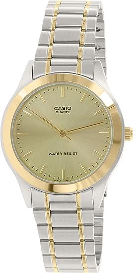 Casio MTP1128G-9A Hombres Relojes