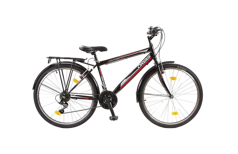 Orbis Bikes 26 Zoll Kinderfahrrad Cityfahrrad Herren Fahrrad City Bike 18 Rad Jugendfahrrad 18 Bike Gang Voltage SCHWARZ 94b7be