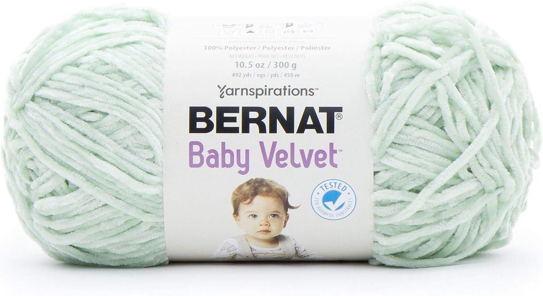 Bernat Baby Velvet Yarn-Orchid Hush