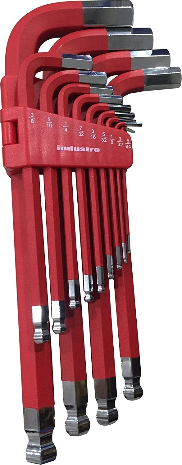 5//64 to 3//4 13pc SAE Large Long Arm Hex Key Wrench Set