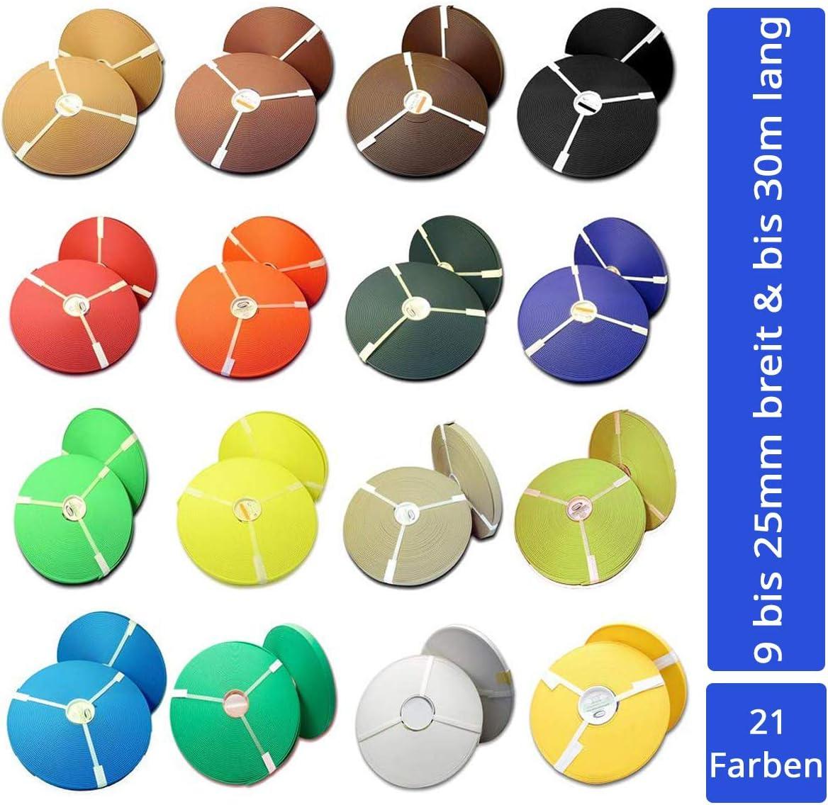 Hilo de BioThane 21 colores, hasta 8 anchos