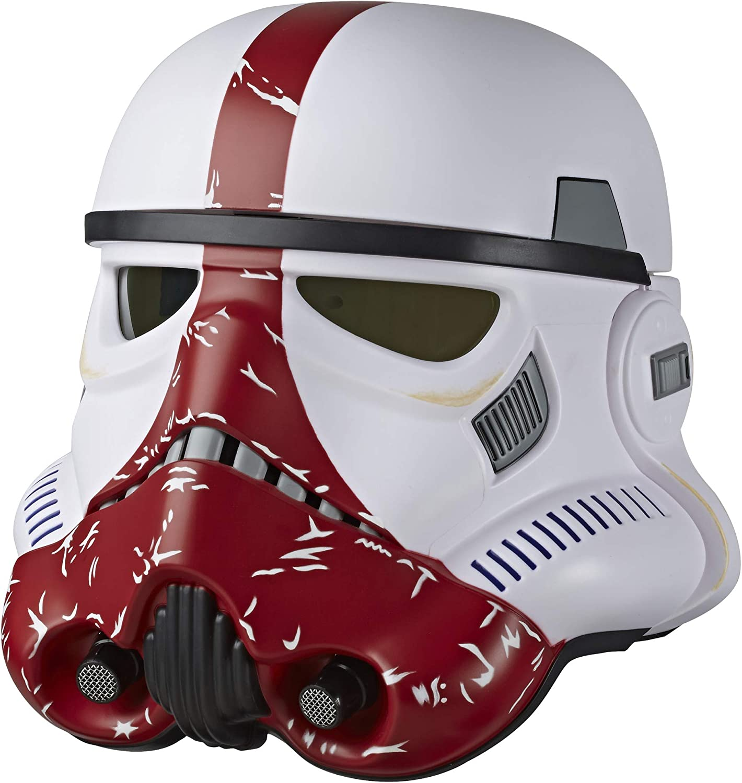 Star Wars The Black Series Incinerator Stormtrooper Helmet Plaque