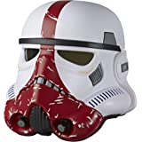 SW Star Wars Black INCINERATOR Trooper Electronic Helmet