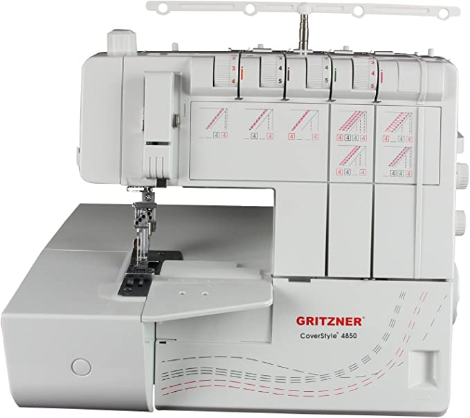 Gritzner coverstyle 4850 overlock Coverlock: Amazon.es: Hogar