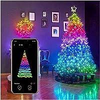 USB 2-20M móviles Bluetooth cadena de luces LED for la decoración del árbol de Navidad de aplicaciones de control remoto…