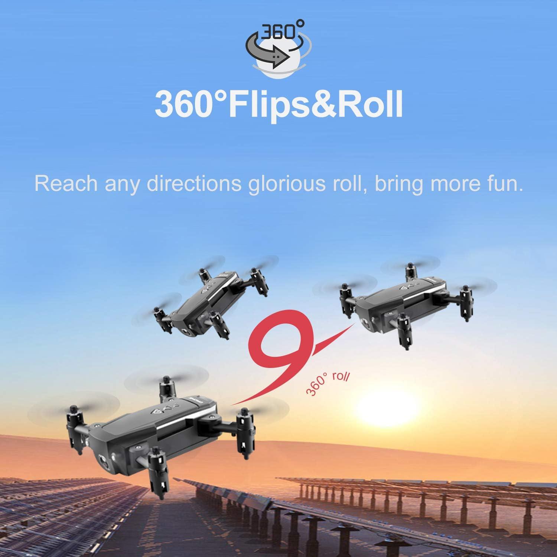 KK8 Mini Drone with HD Camera 720P//1080P Headless Mode 6-Axis Gyro RC Quadcopter