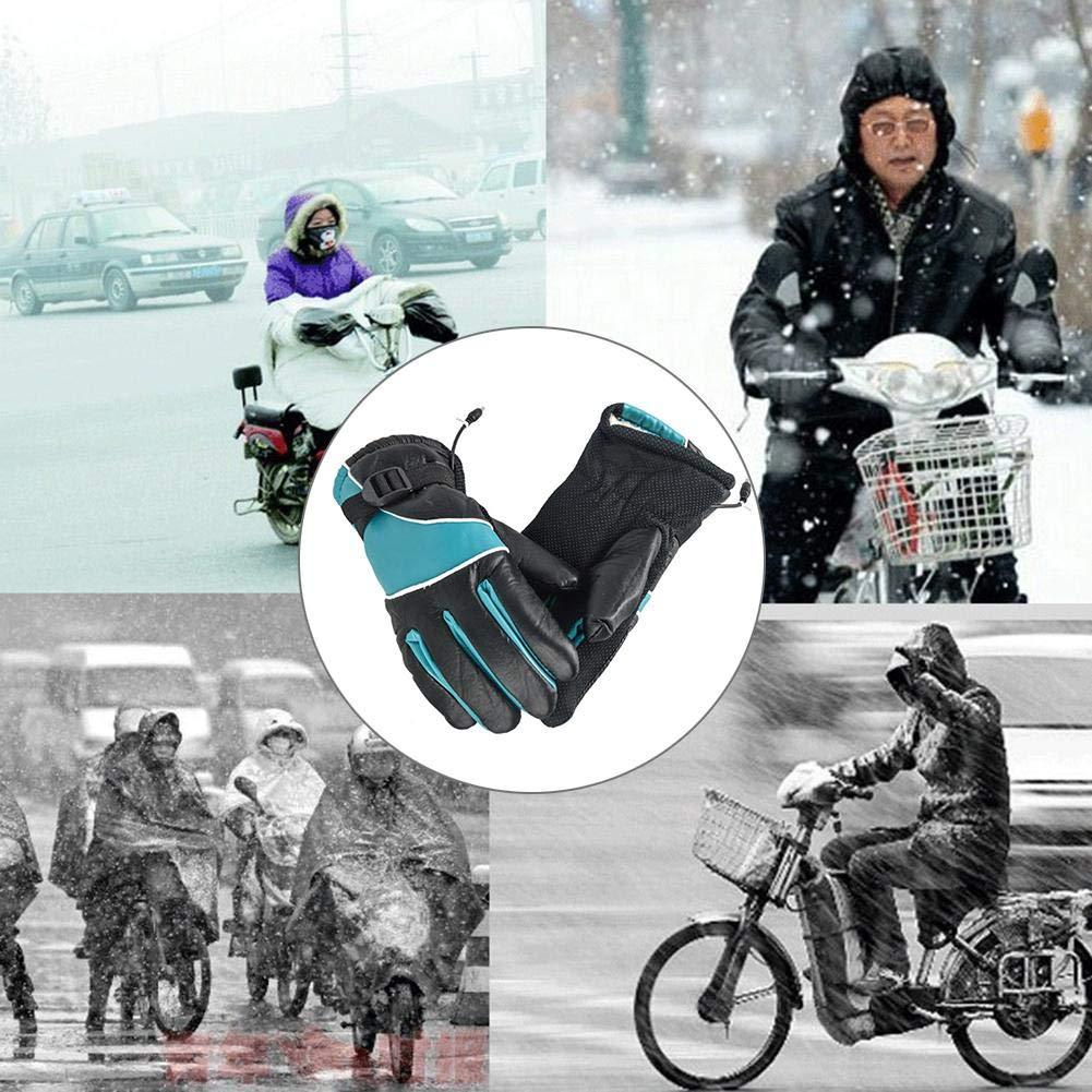 Adultes Isol/és Imperm/éables Rechargeables Sport dhiver Running Dext/érieur V/élo Gants Chauds greatdaily Gants Chauffants 12V Gants Thermiques /Électriques,Heated Moto /Étanche Gant Chauffants