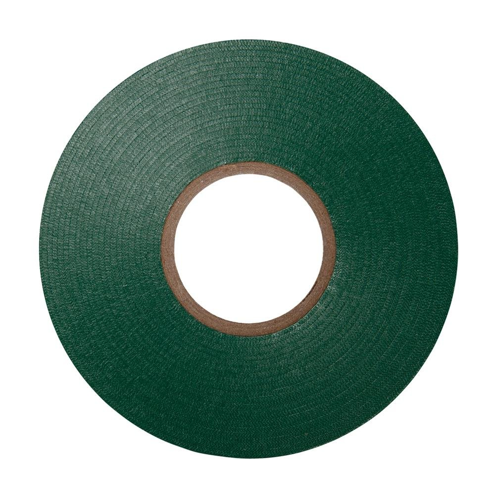 Green PVC Electrical Insulation Tape - 33m x 19mm - Large High Quality - Strong Roll by Gocableties