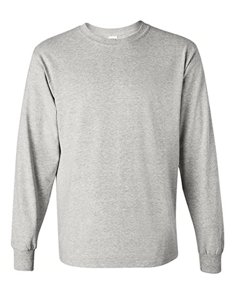 a8fac386bd Gildan Heavy Cotton 5.3 oz. Long-Sleeve T-Shirt | Amazon.com