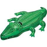 Intex 58546 - Cavalcabile Alligatore, 168 x 86 cm, Verde