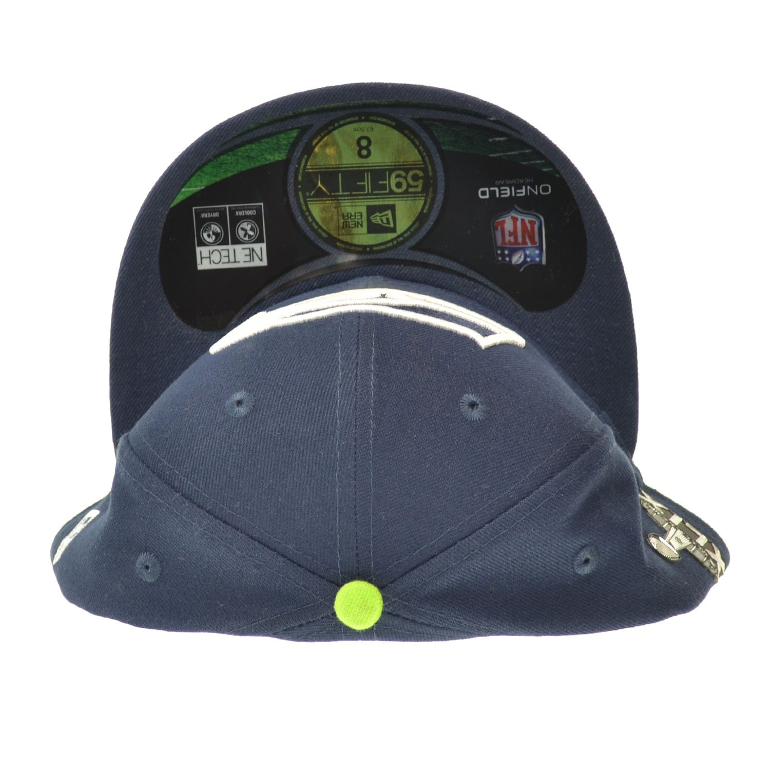 big sale a3cca 35cd2 New Era Seattle Seahawks Superbowl XLIX NFL 59FIFTY Official On-Field  Fitted Cap Blue ne-nfl15-sb-onf-seasea-gam at Amazon Men s Clothing store
