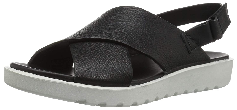 ecco cheap footwear, ECCO Freja Wedge Sandal Black
