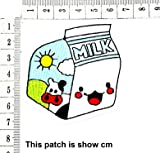 Cute Pretty Smiley Milk Box Cow Cartoon Chidren