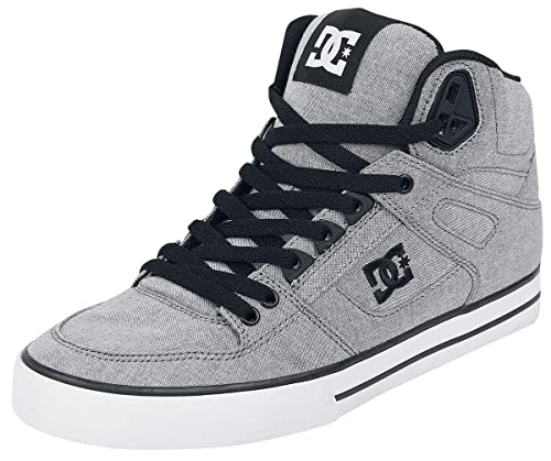 newest e7d23 a1caf DC Shoes Pure High Top WC TX SE Sneakers Alte Grigio