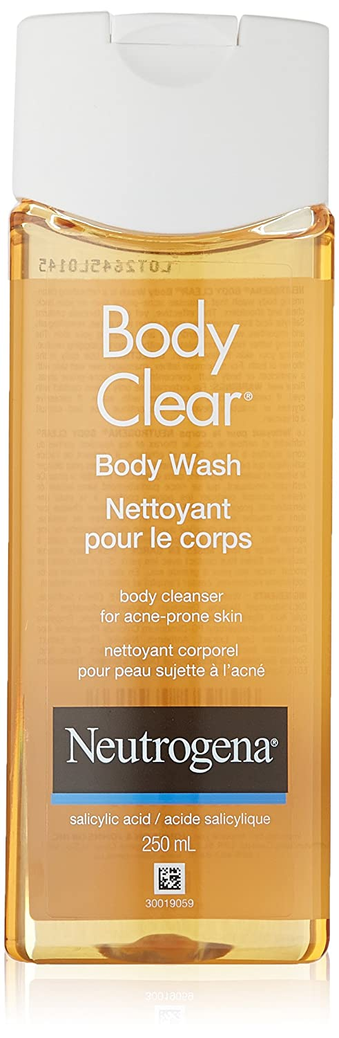 Neutrogena Body Clear Acne Body Wash with Salicylic Acid, 250ml 01750