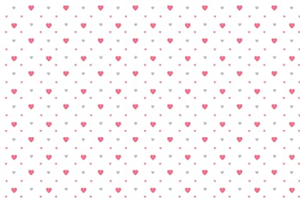 100yellow Gift Wrapping Paper Heart Design Print Ideal For Birthday