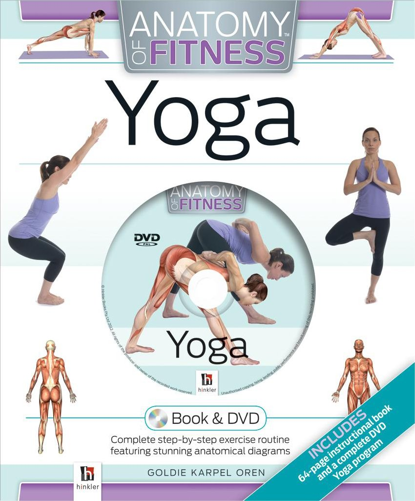 Cased Gift Box DVD Anatomy of Fitness Yoga: Goldie Karpen Oren ...