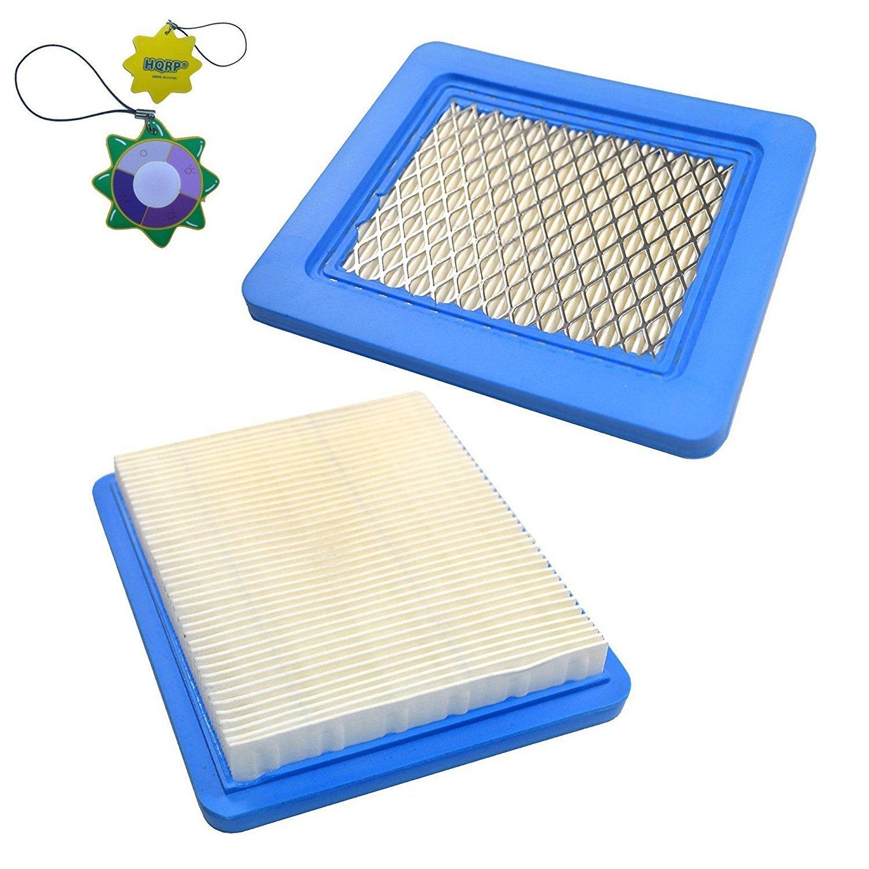 HQRP 2-Pack cartucho de filtro de aire para Briggs and ...