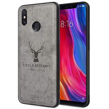 Funda Xiaomi Mi 8, Carcasa Movil Xiaomi Mi 8 Funda Blanda a Prueba de Golpes Funda de TPU Carcasa para Teléfono Inteligente Xiaomi Mi 8, 6.21