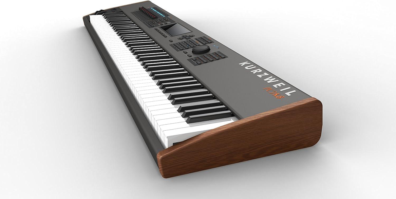 Kurzweil pc3 K8 Pack de sintetizador Workstation + kore64 tarjeta de extensión ROM + pc2srib controlador de cinta negro