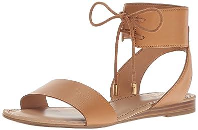 Franco Sarto Women's Glenys Flat Sandal, Kork, 6.5 Medium US