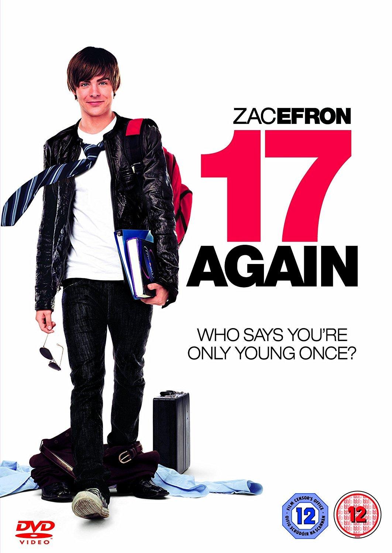 Amazon.com: 17 Again [DVD]: Zac Efron, Matthew Perry, Leslie Mann ...