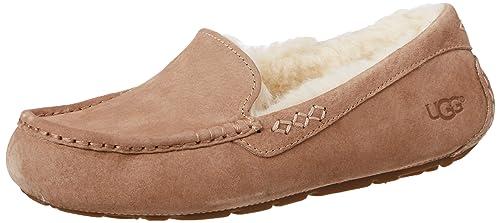 UGG - Zapatillas de Estar por casa para Mujer Beige marrón Claro: Amazon.es: Zapatos y complementos