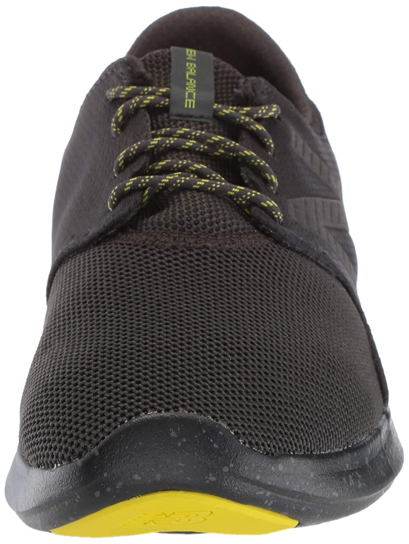 New Balance Boys Coast V3 FuelCore Running Shoe Phantom//Limeade 3.5 M US Little Kid