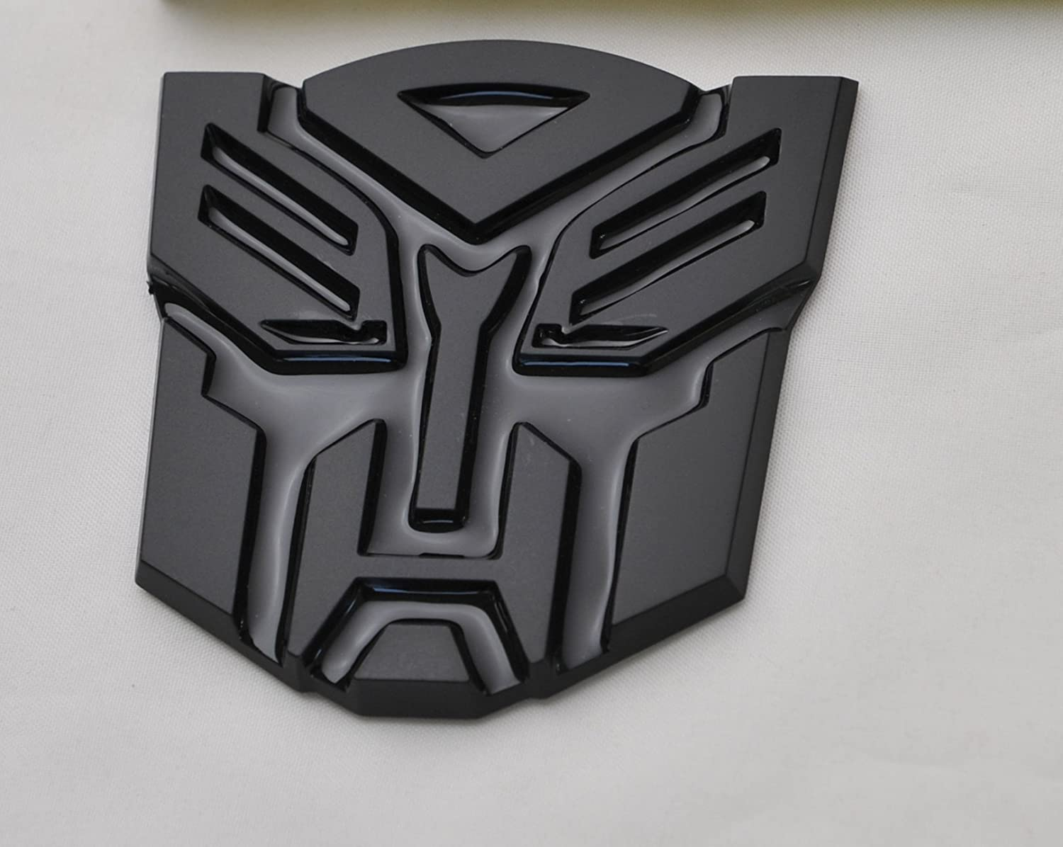 Transformers Autobot Car Black Badge Emblem 3D Logo Small The Masonic Exchange TME-4081