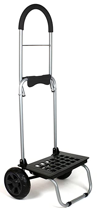 12a52aca1aa1 dbest products Mighty Max Personal Dolly, Black Handtruck Cart Hardware  Garden Utilty