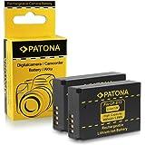 2x Batterie LP-E12 pour Canon EOS 100D | EOS M | EOS Rebel SL1