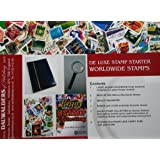 De Luxe Stamp Starter Kit. Worldwide Stamps (SSK2)