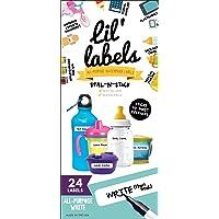Removeable, Write-On Food Labels, Waterproof, Multipurpose, Freezer Safe, Self-Laminating Label, Dishwasher-Safe for…