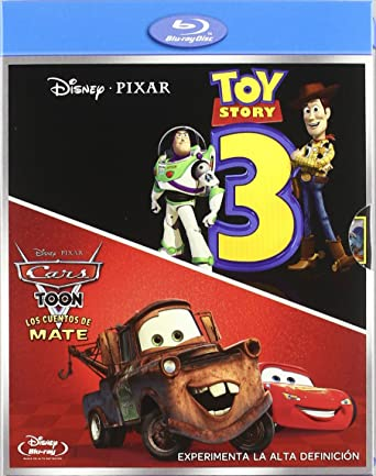 Toy storry 3 + Cars Toon: Los Cuentos de Mate
