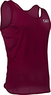 product image for TR903 Men's Athletic Single Ply Solid Color Light Weight Track Singlet (Large, Maroon)