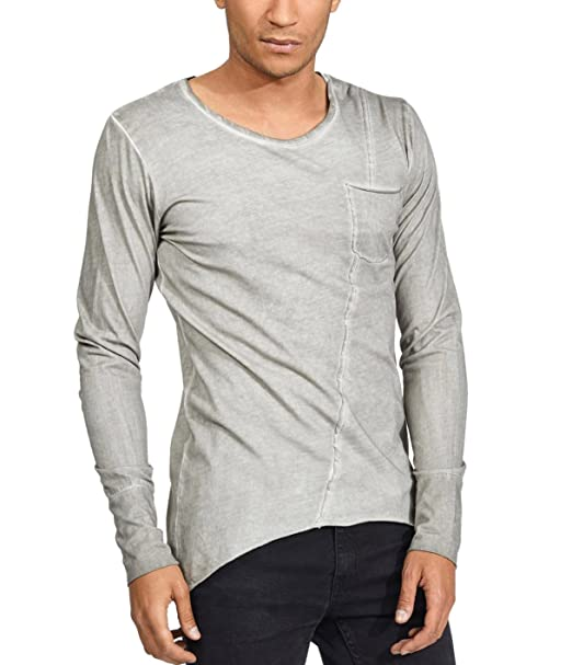 6e9a958e trueprodigy Casual Mens Clothes Funny and Cool Designer Long Sleeve T-Shirt  for Men with Pocket Crew Neck Slim Fit Long Sleeve Sale: Amazon.co.uk:  Clothing