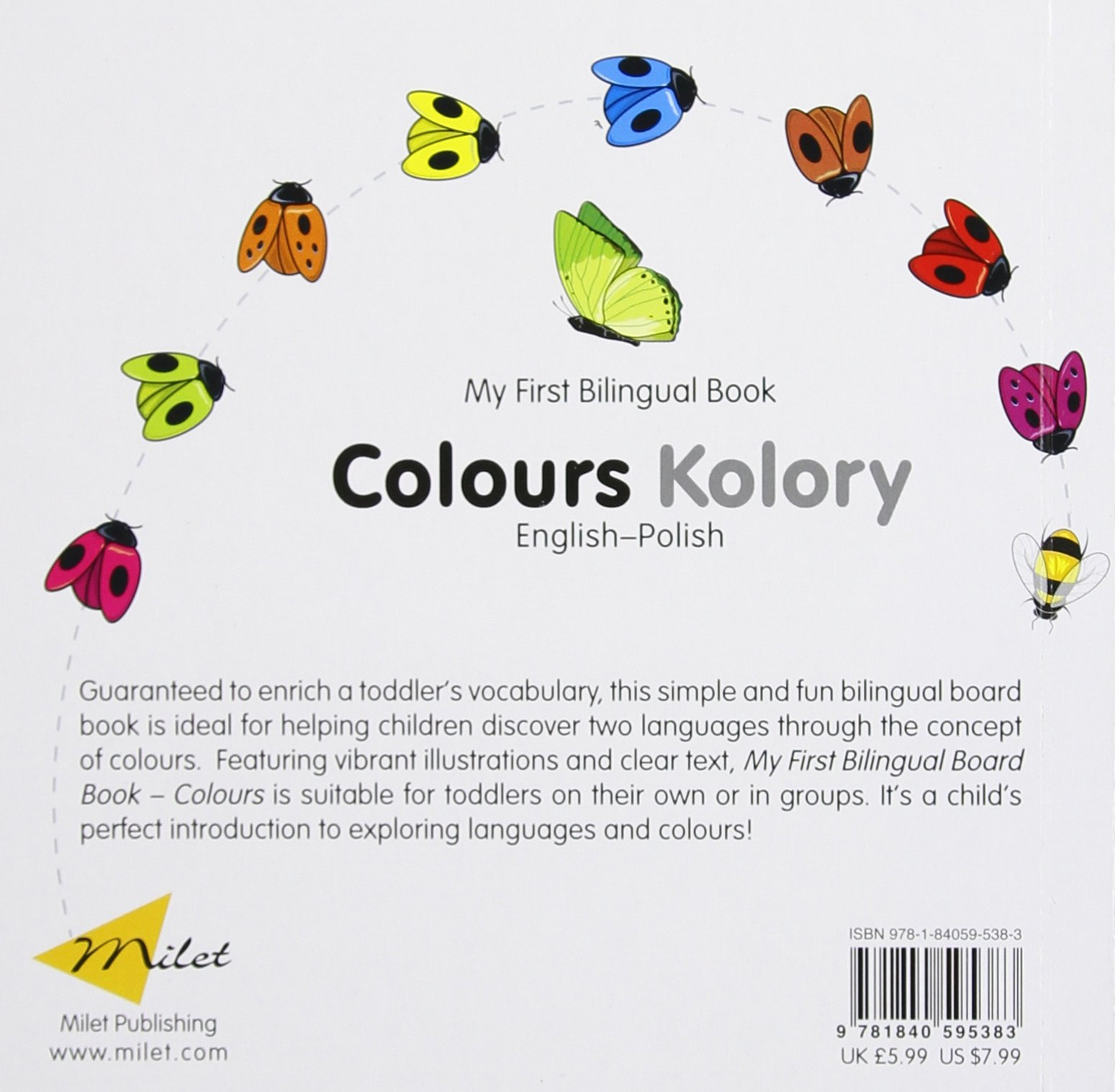 My First Bilingual Book–Colours (English–Polish): Milet Publishing ...
